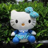 爆款蓝色凯蒂猫公仔娃娃30CM卖图片