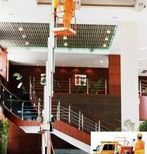 供应广东酒店展览大厦工厂电影院高空清洁维修升降机图片
