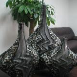 供应精品花瓶/室内花瓶/贴贝花瓶13712295933