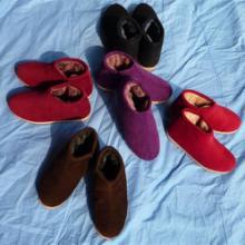 供应手工棉鞋