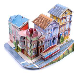 3D立体拼图义乌森禾玩具图片