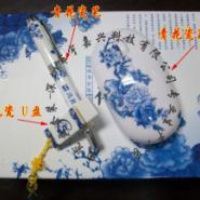 陶瓷U盘无线鼠标陶瓷笔套装图片