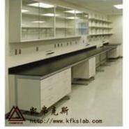 实验室家具全钢靠边台图片