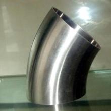 供应卫生级焊接45°弯头