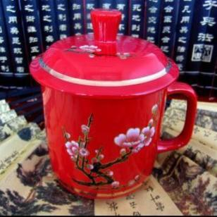 陶瓷笔陶瓷U盘青花瓷U盘中国红瓷图片