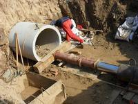通渭县甘肃顶管施工,专业顶管施工队,水泥顶管施工