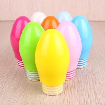 供应彩色灯泡迷你小风扇