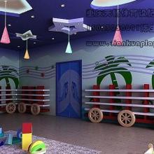 四川高端防腐木制大型滑滑梯,贵州幼儿园桌椅攀岩设计批发, 重庆长寿幼儿园设计装修公司图片