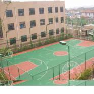 巴南区硅PU网球场报价,重庆专业的球场施工队伍,涪陵区幼儿园安全地垫