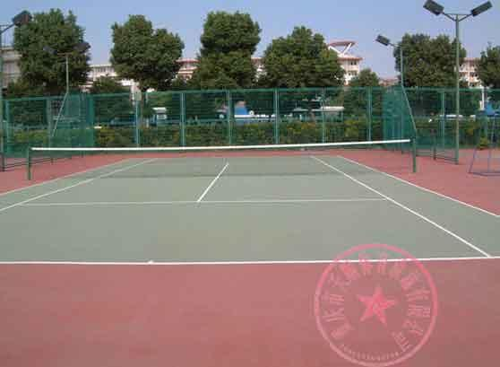 供应重庆黄浦地产网球场地施工单位图片