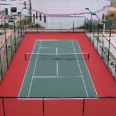 重庆万科地产网球场地施工单位江津区羽毛球场施工巴南区硅PU网球图