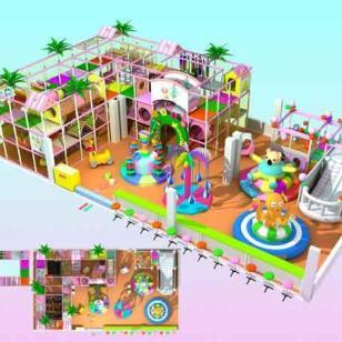 南岸区儿童游乐场连锁经营图片