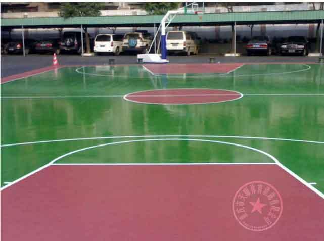 供应沙坪坝区胶网球场施工 重庆浮动地板篮球场报价酉阳县塑胶篮球