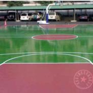 沙坪坝区胶网球场施工图片