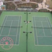 【重庆标准篮球场建设,浮动地板网球场攀岩设计安装】 重庆渝北硅PU网球场批发