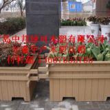 供应青岛木质花箱专业生产加工