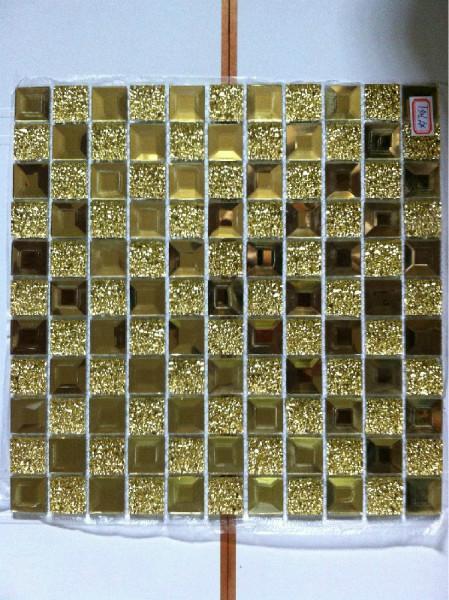 供应海口镜面玻璃马赛克,电视背景墙点缀装饰用.