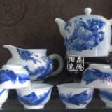 供应青花茶具-手绘功夫茶具-精品茶具