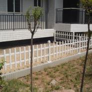 厦门塑钢围墙栏杆厂区庭院绿化护栏图片