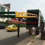 供应三良移动式装卸车桥叉车更安全