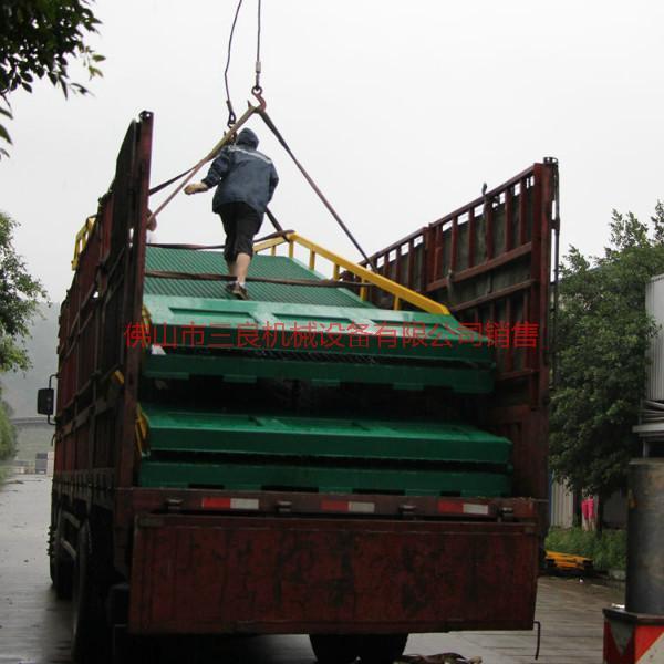 供应叉车钢构卸货桥生产直销