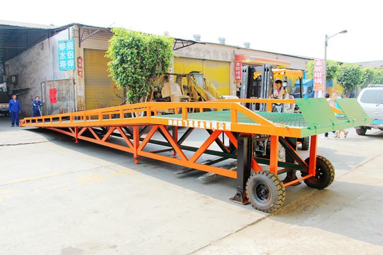 供应升降移动式登车桥支腿型供应商