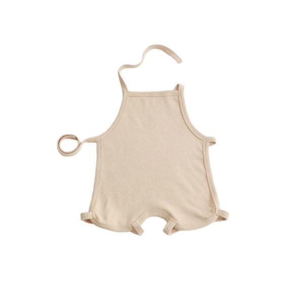 供应甲壳素纤维彩棉婴幼儿肚兜围嘴尿垫-威海新生儿用品