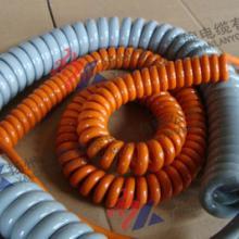 供应高弹性螺旋电缆弹簧线