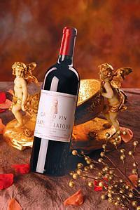 法国原瓶拉图干红葡萄酒图片