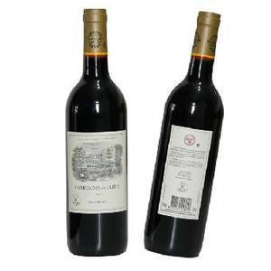 法国拉菲红酒图片