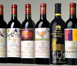 木桐红酒图片