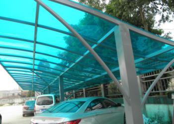 不锈钢阳光板雨棚报价