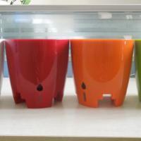 供应花里巴巴工位固定花盆懒人塑料花盆可作为普通的花盆也可以直接放在办公室工位屏风上