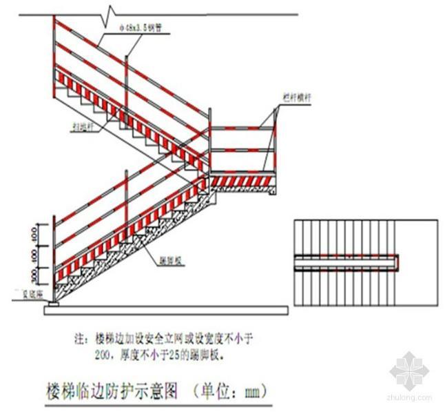 青岛图纸安全防护图片栏杆|青岛楼梯安全防护楼梯表示怎么高差上风图片