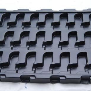 杭州PVC抗静电吸塑托盘厂家直销图片