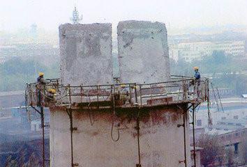 辽阳100m水泥烟囱拆除80m钢筋混凝土烟囱拆除公司70m水泥烟囱拆除施工队