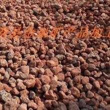 供应烧烤火山岩石白浮石火山石生物滤料批发