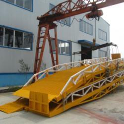 濟南市移动登车桥集裝箱裝卸货平台价格厂家