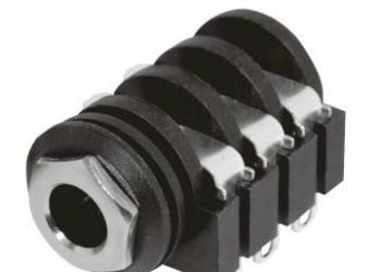 pj-644wa音频插座6.35图片