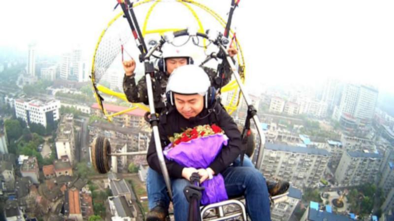 供应湖南动力伞空中求婚,动力伞广告,动力伞体验