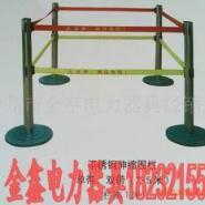 生产不锈钢带式伸缩围栏图片