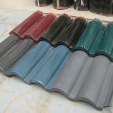 供应广德双筒瓦价格、宜兴建陶双筒瓦供应、芜湖琉璃瓦厂家供应图片