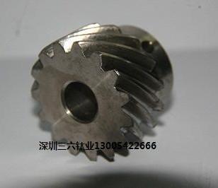 钛齿轮钛棒图片