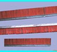 供应空心砖机毛刷-制砖机械清扫板刷
