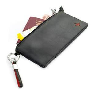 公司定做商务礼品真皮差旅护照包 高档男士牛皮手包