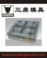 供应托盘塑料模具加工厂 专业注塑托盘模具公司图片