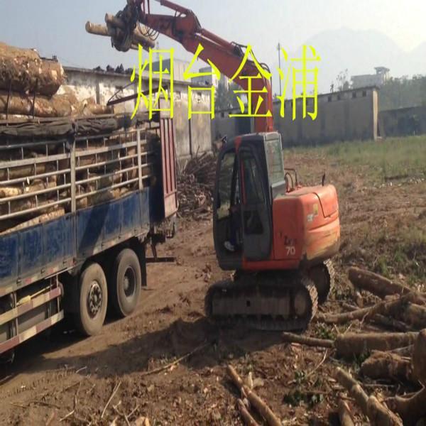 供应日立70挖掘机原厂品牌旋转液压抓木器图片
