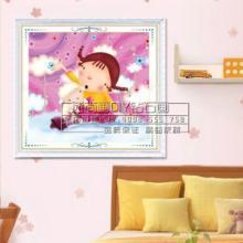 供应儿童卧室装饰画diy钻石画儿童卡通钻石画童梦壁画厂家批发D199