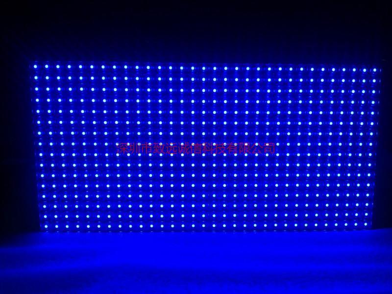 供应P10室内/半户外表贴单蓝单元板/P10表贴单蓝单元板
