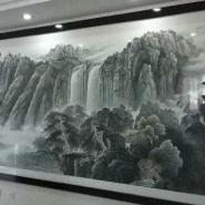 长沙哪里有装裱大幅山水画的地方图片
